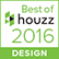 We were nominated for Houzz's Best of 2016!