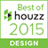 We were nominated for Houzz's Best of 2015!